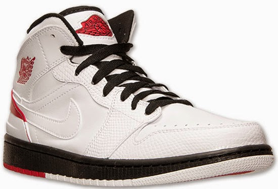 2a875452de7 Inspired by the original white, red and black Air Jordan II, this Air  Jordan 1 Retro '86 comes in a white, gym red and black colorway.