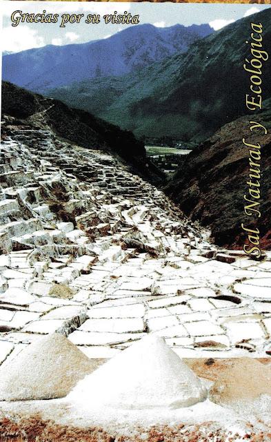 ingressos Salinas de Maras, Peru