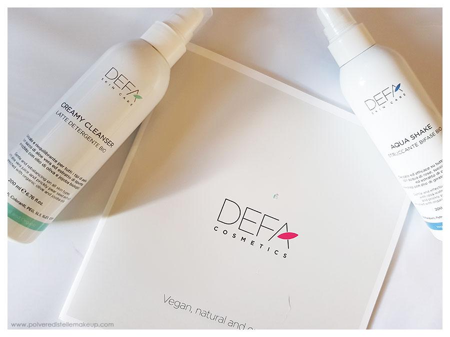 Skincare prodotti Defa Cosmetics