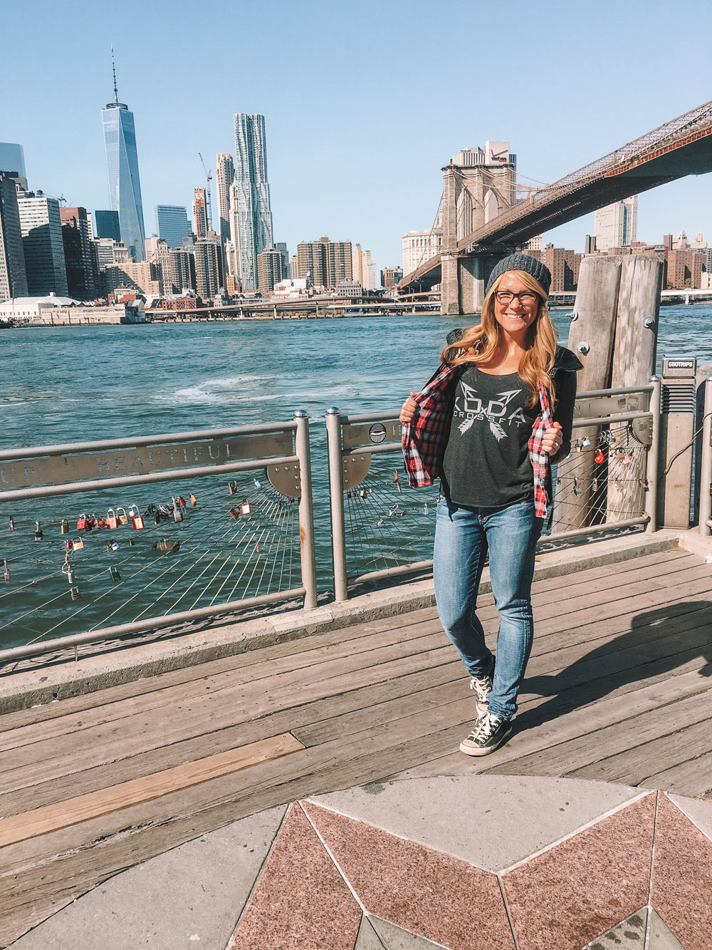 Most Instagrammable Spots in NYC: Brooklyn Bridge Park