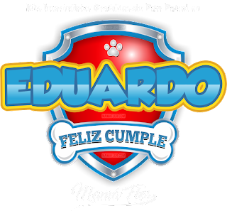 Logo de Paw Patrol: Eduardo