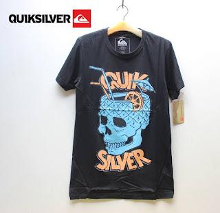 Kaos Quiksilver Tengkorak