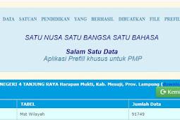 Download Prefill Dapodik Untuk Menjalankan Aplikasi PMP 2018.05