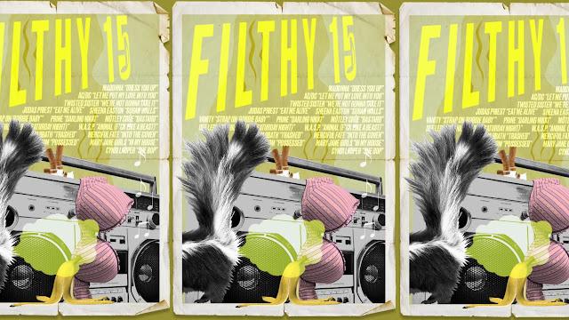 PMRC Filthy Fifteen album. PunkMetalRap.com