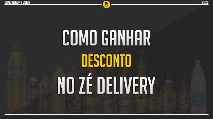 Como ganhar desconto no Zé Delivery