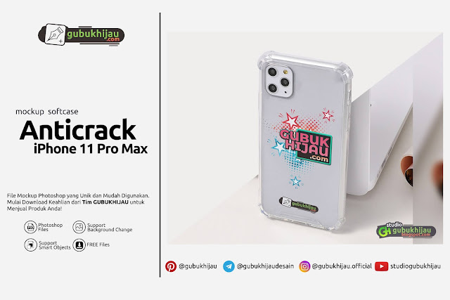 Mockup Anticrack iPhone 11 Pro Max