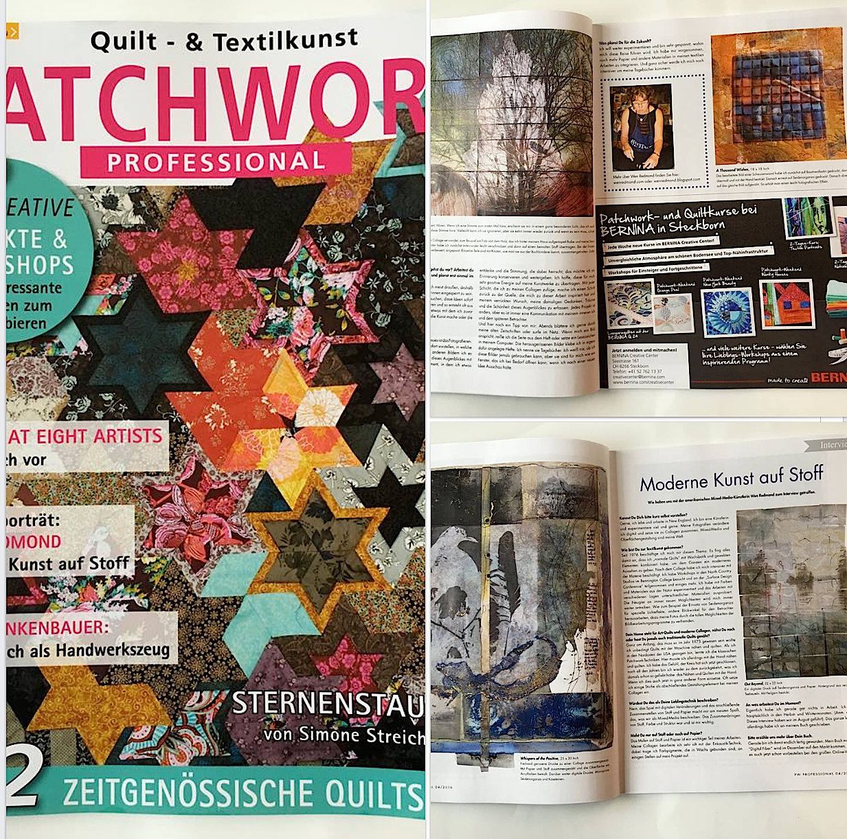 featured in German Magazine Patchwork Professional