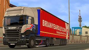 Container Fruehauf standalone trailer