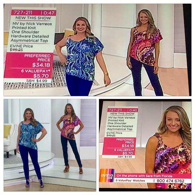 Of the april show presentation on the evine live tv shopping network