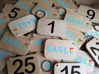 DGK Eagle Bagtags