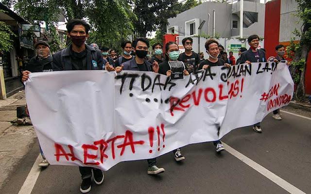 5.000 Mahasiswa Akan Demo Tolak UU Cipta Kerja di Depan Istana Besok