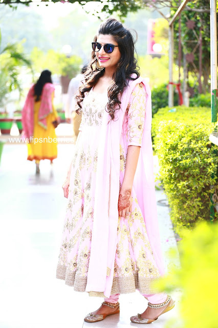 Manish Malhotra anarkali replica