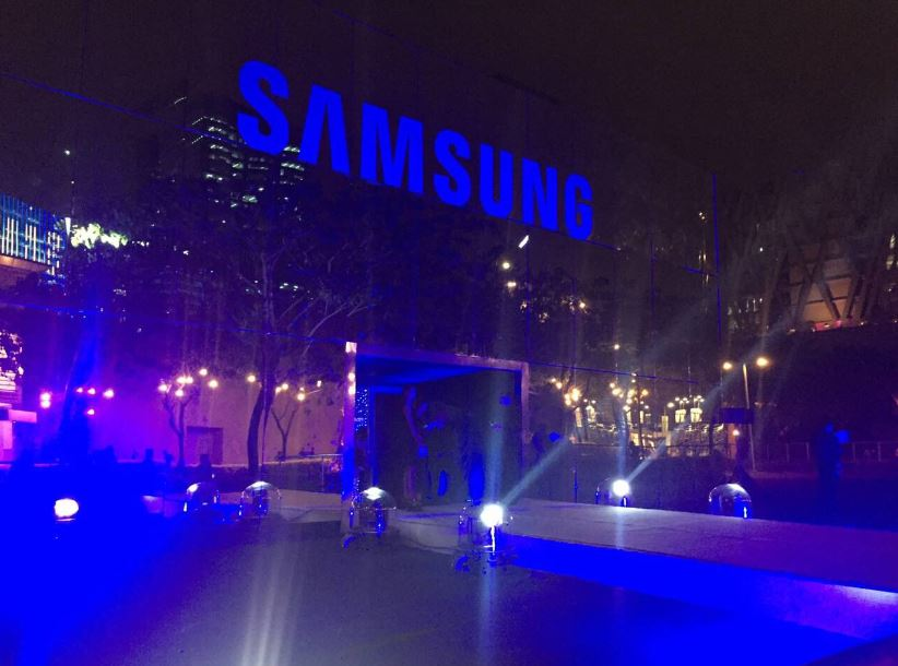 The three-story hall of mirrors Samsung Infinity Hub in BGC, constructed just for the grand reveal of Samsung Galaxy S8 and S8+