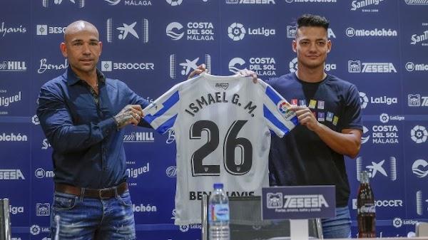 """Ismael Gutiérrez - Málaga -: """"Es una gran oportunidad porque llego a un gran club"""""""