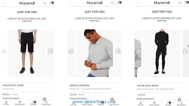 aplikasi belanja online mapemall