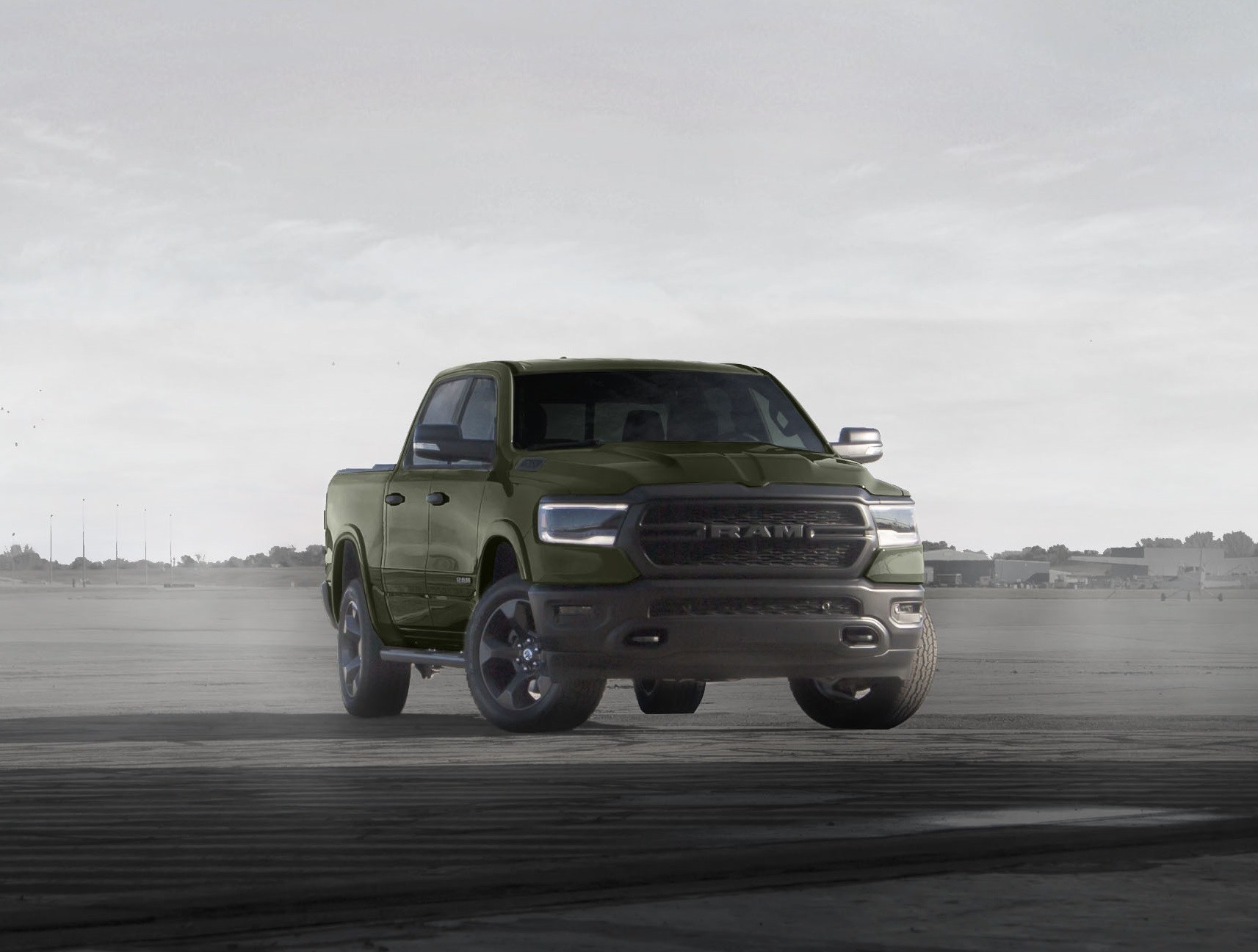 Ram Launches Fourth Phase of U.S. Armed Forces-inspired, Limited-edition 'Built to Serve' Trucks