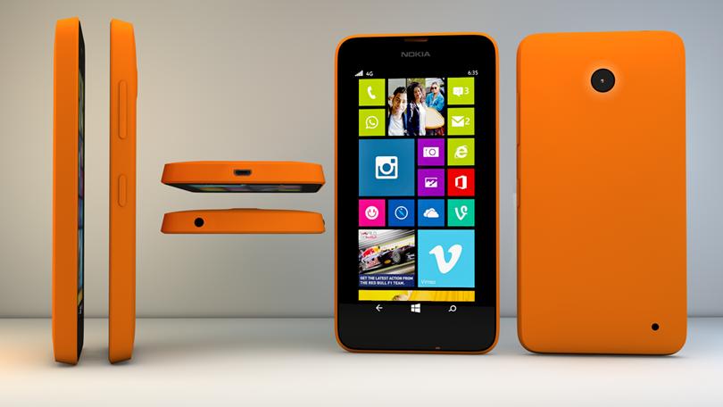 3-) Nokia Lumia 630 : 1,51 Watt