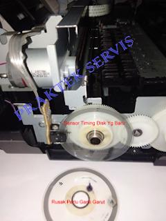 Printer Canon MP230 Sensor Timing Disk Sudah Rusak