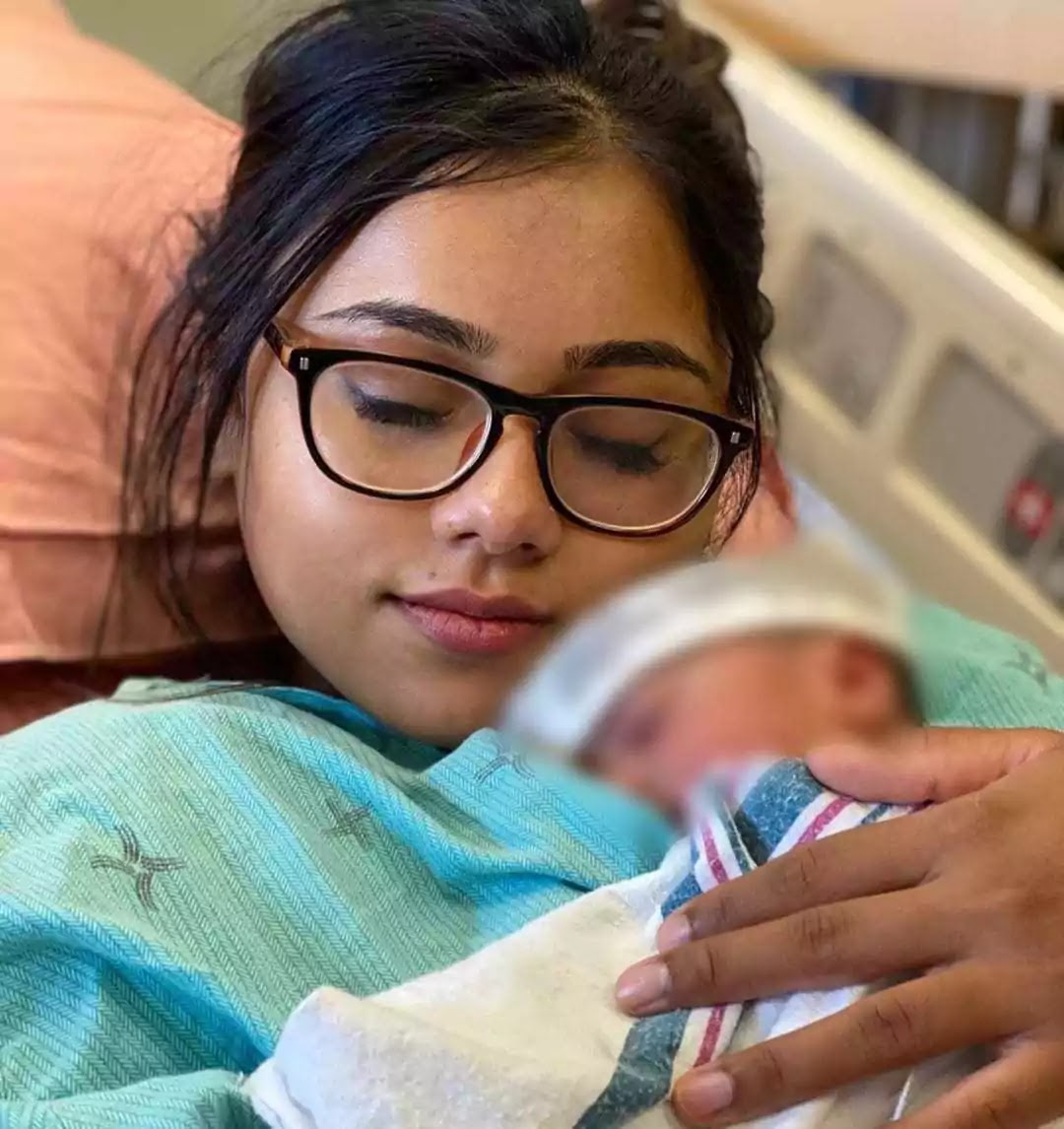 Zaid Ali Shares First Look of Her Cute Son Izyan