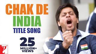 Chak De India lyrics Shah Rukh Khan x Sukhwinder Singh