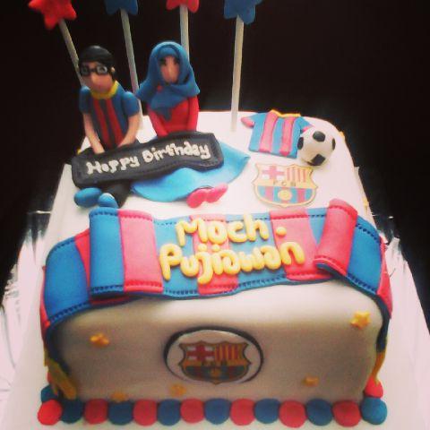 Kue Ulang Tahun Bandung Kue Ulang Tahun Bola Barcelona