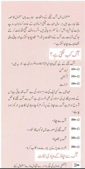 Fire Protection Industry PDF Urdu