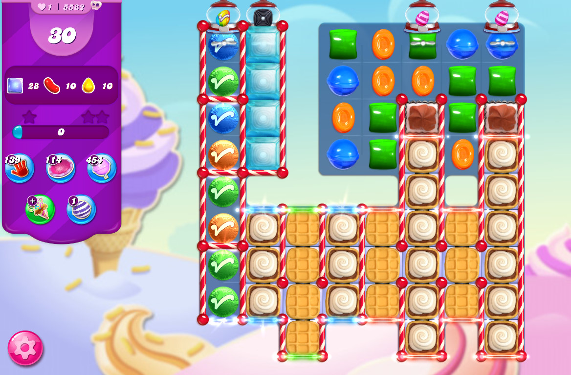 Candy Crush Saga level 5582