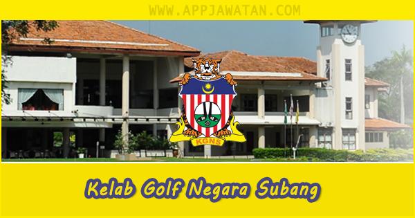 Jawatan Kosong di Kelab Golf Negara Subang