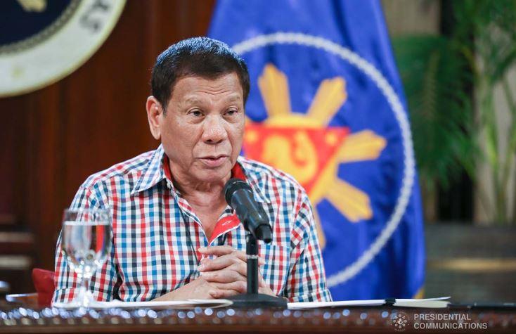 President Rodrigo Roa Duterte addresses the nation