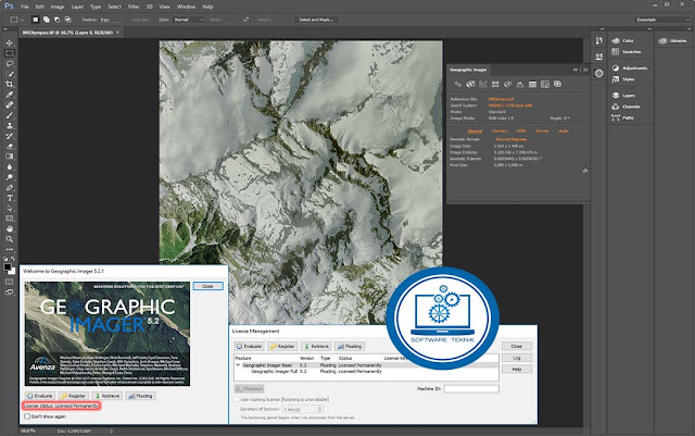Avenza Geographic Imager v5.2.1