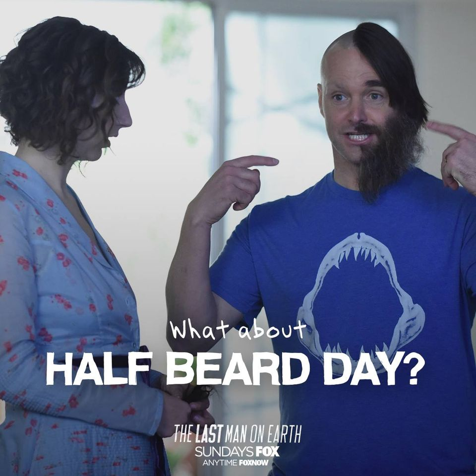 National No Beard Day Wishes Photos
