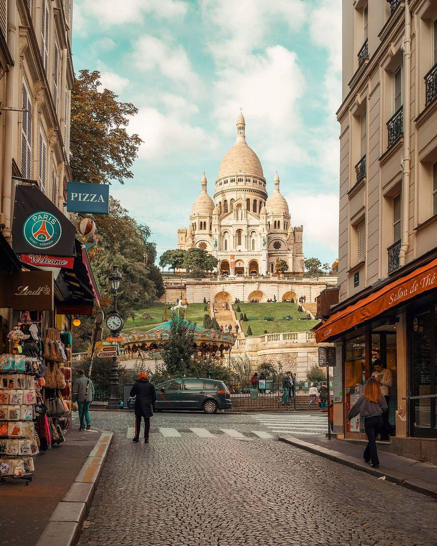 Sacré-Coeur Gereja Wisata Paris