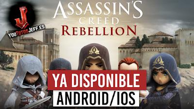 assasins creed rebellion para android