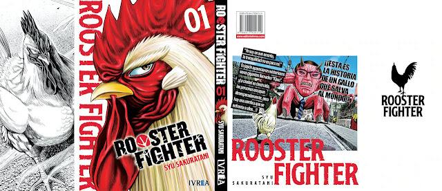 Esta es la primera portada de Rooster Fighter de Ivrea.