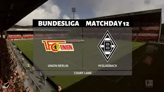 LIVE MATCH: Union Berlin Vs  Mönchengladbach Bundesliga 23/11/2019