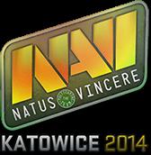 Sticker (naklejka) Natis Vincere | Katowice 2014 (Holo)