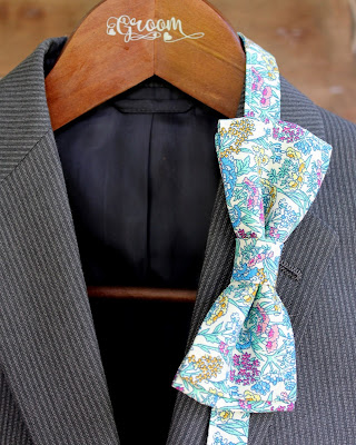 Because I'm Me mens liberty floral bow tie for groom