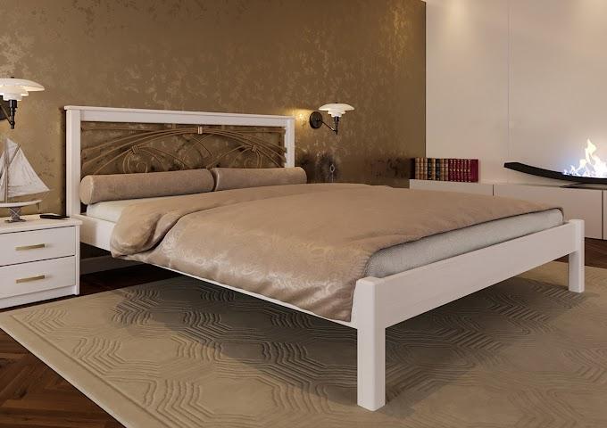 Кровать Модерн с ковкой 140х190/200  ТМ ЧДК