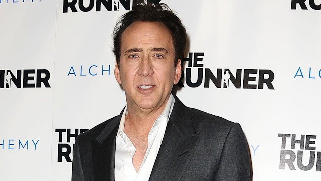 Nicolas Cage Makes Out With Mysterious Woman Days After Announcing Split