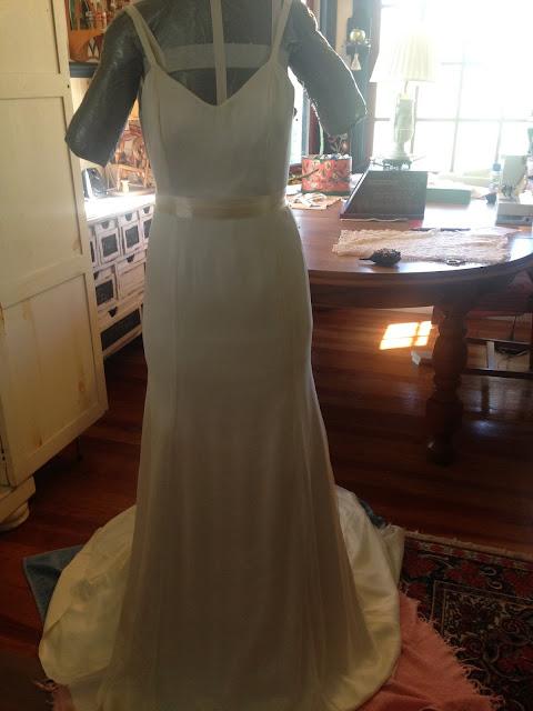 Handmade Wedding Dress on Palindrome Dry Goods