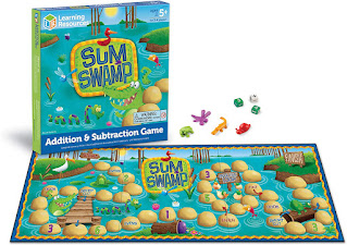 Sum Swamp Math Game