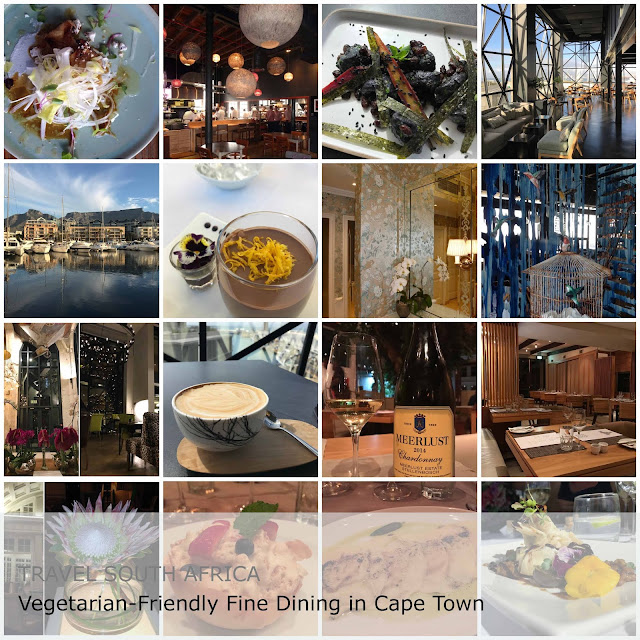 Travel South Africa. Vegetarian-Friendly Fine Dining in Cape Town