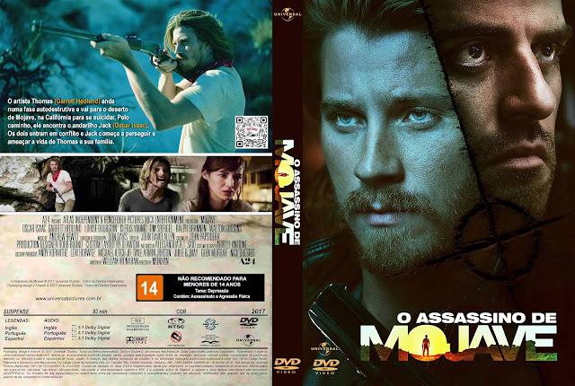 Capa DVD O Assassino de Mojave [Custom]