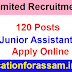 Oil India Limited Recruitment 2021: 120 Junior Assistant Vacancy Apply Online Now
