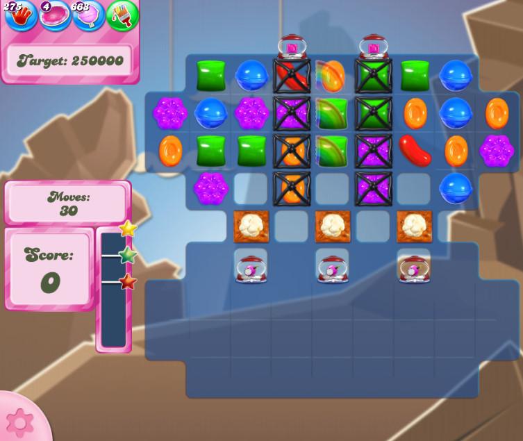 Candy Crush Saga level 2708