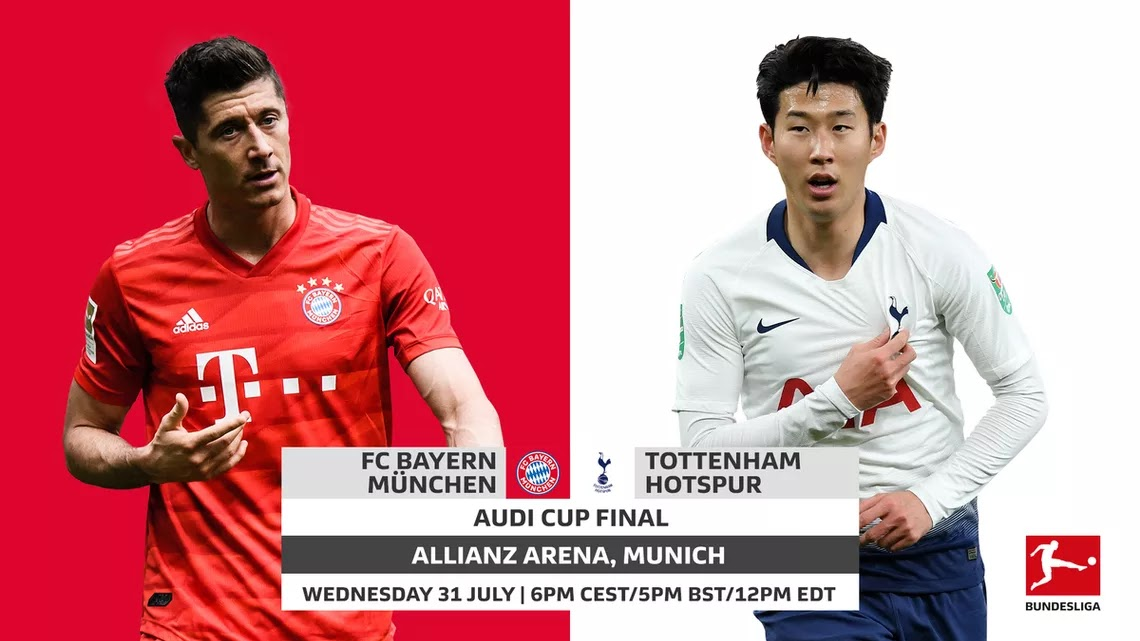 مشاهدة مباراة بايرن ميونخ و توتنهام 31-07-2019 كأس أودي
