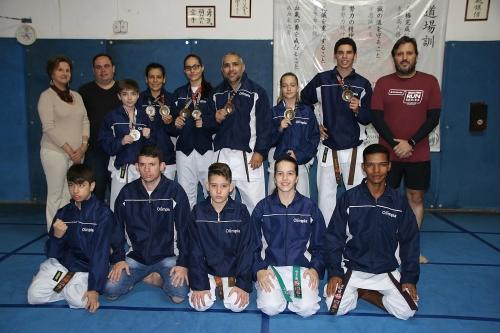 Equipe olimpiense de Karatê se classifica para as finais do Campeonato Brasileiro
