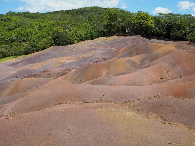 Mauritius nähtävyydet Seven coloured earth