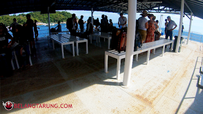 Keadaan Di Atas Floating Pier Koh Lipe Thailand