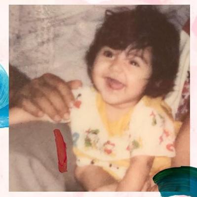 Anushka Sharma Childhood Photo